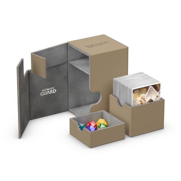 Flip´n´Tray Deck Case 100+ Standard Size XenoSkinTM Sand