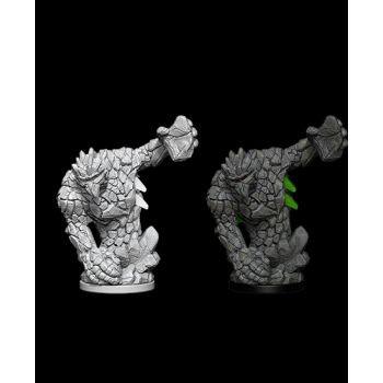 Pathfinder Deep Cuts Unpainted Miniatures: W5 Medium Earth Elemental