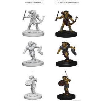 Dungeons & Dragons Nolzur`s Marvelous Unpainted Miniatures: W1 Goblins