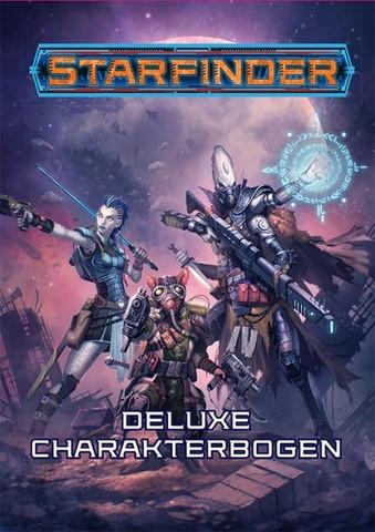 Starfinder Deluxe-Charakterbogen