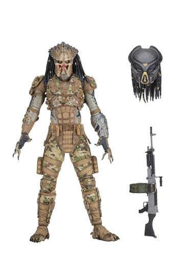 Predator 2018 Actionfigur Ultimate Emissary 2 20 cm --- BESCHAEDIGTE VERPACKUNG