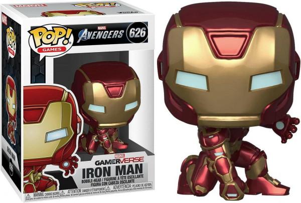 Funko POP! Avengers Game - Iron Man (Stark Tech Suit) Vinyl Figure 10cm