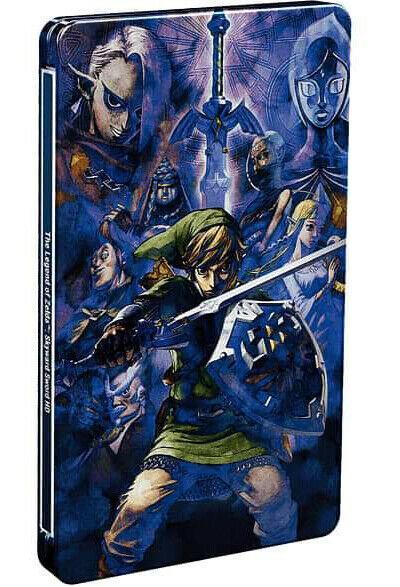 The Legend of Zelda: Skyward Sword HD - Steelbook ohne Spiel (Switch, neu)