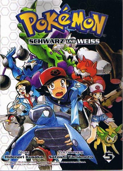 Pokemon – Schwarz und Weiss Band 05