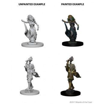 Dungeons & Dragons Nolzur`s Marvelous Unpainted Miniatures: W4 Medusas