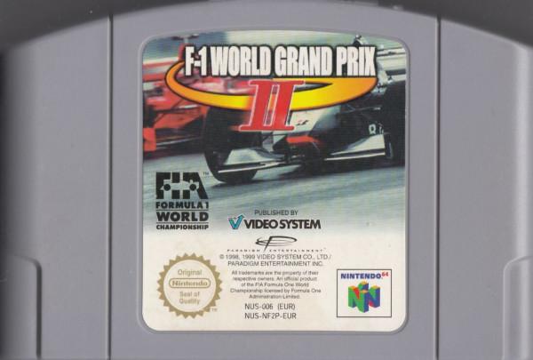 F-1 World Grand Prix 2 - MODUL **