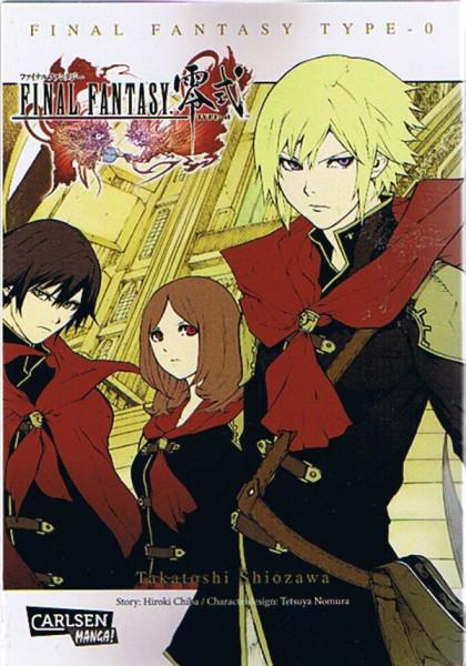 Final Fantasy - Typ 0: Der Manga zum Game