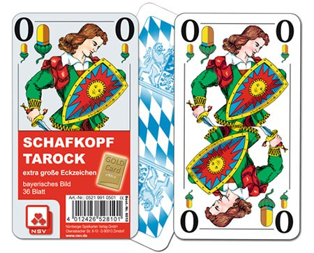 Schafkopf bay. Bild - Gold Card Classic glatt