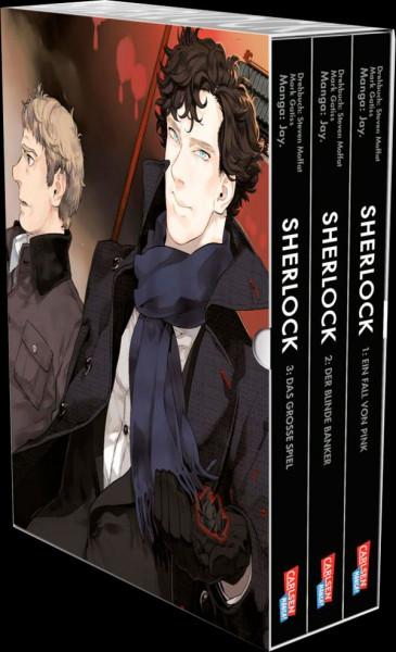 Sherlock 01 - 03 Sammelschuber