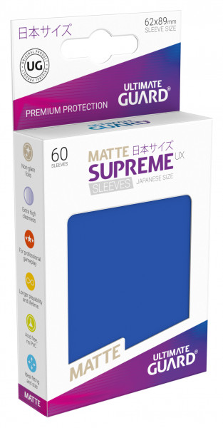Supreme Sleeves Japan Size Matt UX Blue (60)