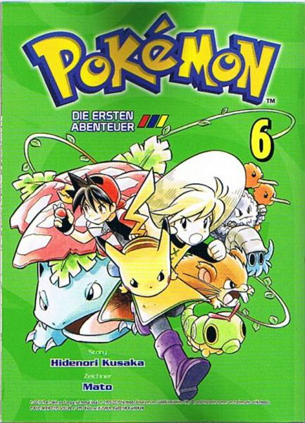 Pokemon – Die ersten Abenteuer Band 06