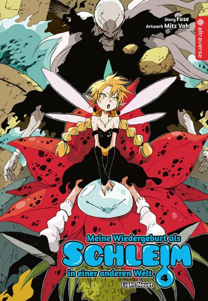 Meine Wiedergeburt als Schleim in einer anderen Welt 04 - Light Novel