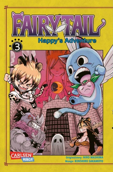 Fairy Tail - Happy's Adventure 03