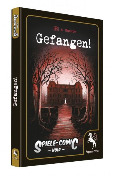 Spiele-Comic Abenteuer: Gefangen! Noir