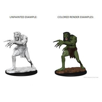 Dungeons & Dragons Nolzur`s Marvelous Unpainted Miniatures: W1 Troll