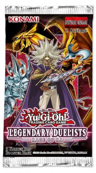 Legendary Duelists 7 Rage of Ra Booster de