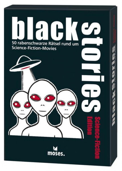 black stories – Science Fiction Edition