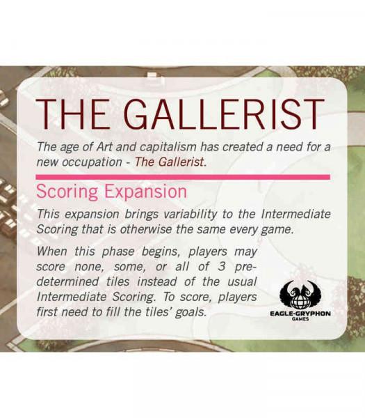 The Gallerist Scoring Expansion