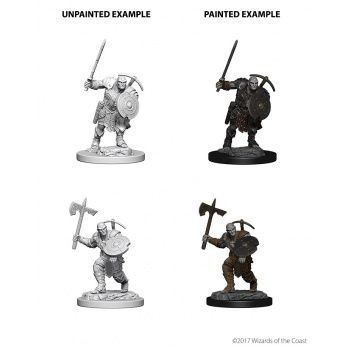 Dungeons & Dragons Nolzur`s Marvelous Unpainted Miniatures: W4 Earth Genasi Male Fighter