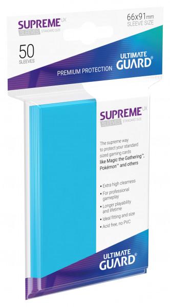 Supreme Sleeves Standard Size Slim UX Light Blue (50)