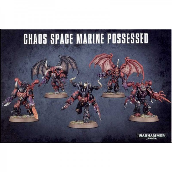 Chaos Space Marines Possessed (43-27)