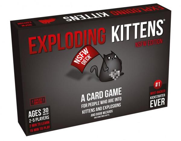 Exploding Kittens: NSFW Edition en