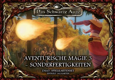 DSA5: Spielkartenset Aventurische Magie 3 Sonderfertigkeiten