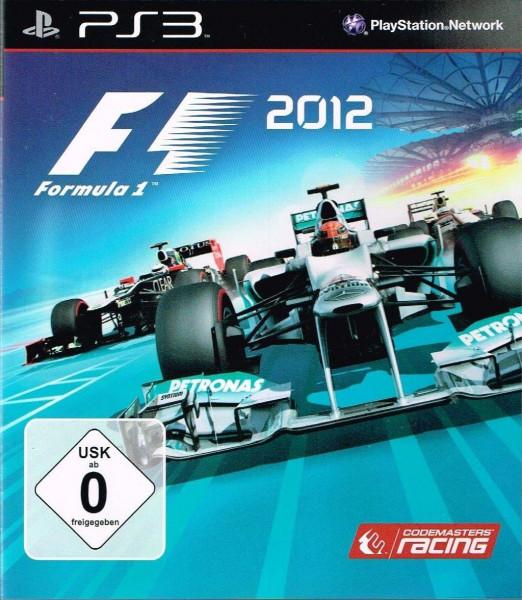 F1 2012 (OA) (Playstation 3, gebraucht) **