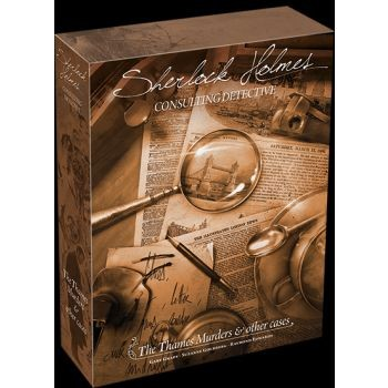 Thames Murders and Other Cases: Sherlock Holmes Consulting Detective - EN