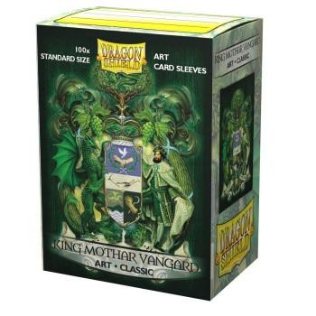 Dragon Shield Art Sleeves - King Mothar Vangard: Coat-of-Arms (100 Sleeves)