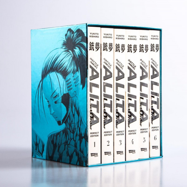 Battle Angel Alita: Last Order Perfect Edition Schuber