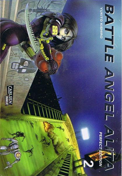 Battle Angel Alita Perfect Edition 02