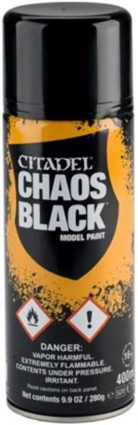 Chaos Black Spray 400ml (Global) (62-02)