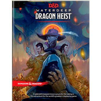 D&D RPG - Waterdeep Dragon Heist Book - EN