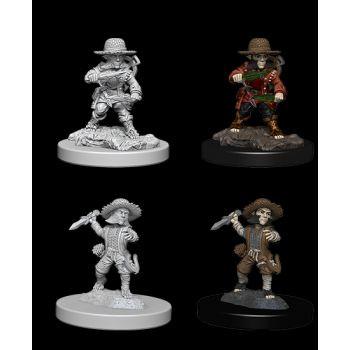 Pathfinder Deep Cuts Unpainted Miniatures: W6 Male Halfling Rogue