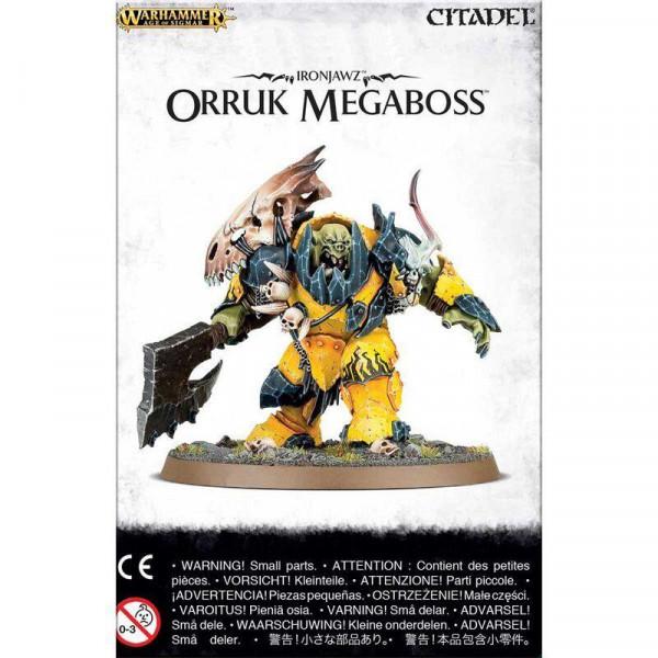 Ironjawz Orruk Megaboss (89-26)