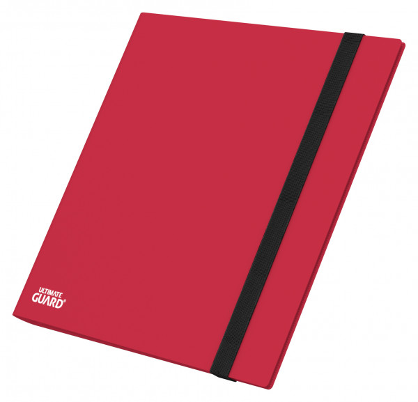 12-Pocket QuadRow FlexXFolio Red