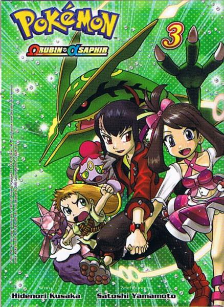Pokemon – Omega Rubin & Alpha Saphir Band 03
