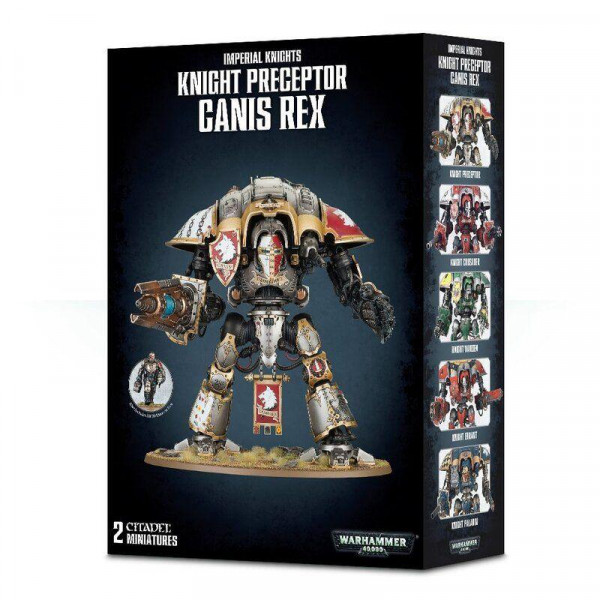 Knight Preceptor Canis Rex (54-15)