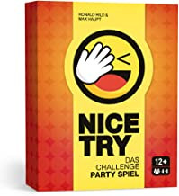 Nice Try - Das Challenge Party Spiel