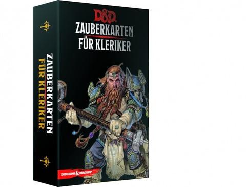 D&D RPG - Zauberkarten: Kleriker