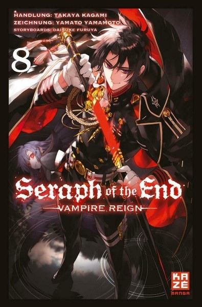 Seraph of the End - Vampire Reign 08