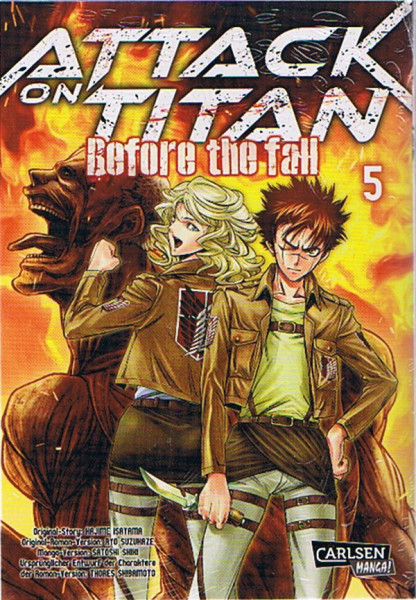 Attack on Titan - Before the Fall 05