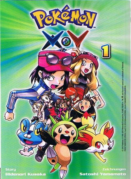 Pokemon – X und Y Band 01