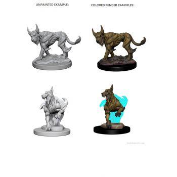 Dungeons & Dragons Nolzur`s Marvelous Unpainted Miniatures: W1 Blink Dogs