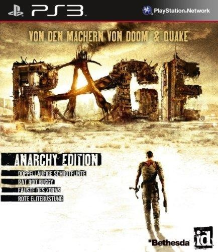 Rage Anarchy Edition Steelbook