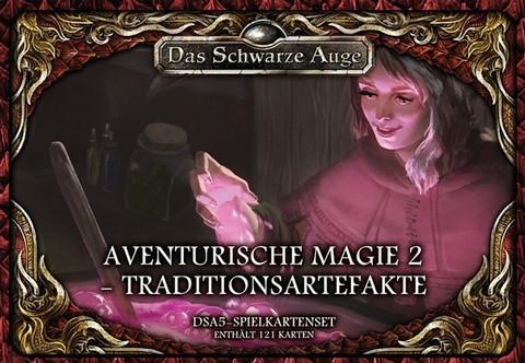 DSA5: Spielkartenset Aventurische Magie 2 Traditionsartefakte