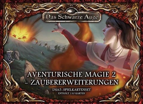 DSA5: Spielkartenset Aventurische Magie 2 Zaubererweiterungen