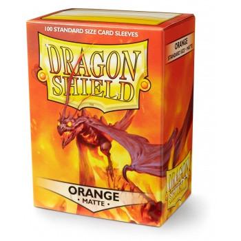Dragon Shield Card Sleeves Orange (60)