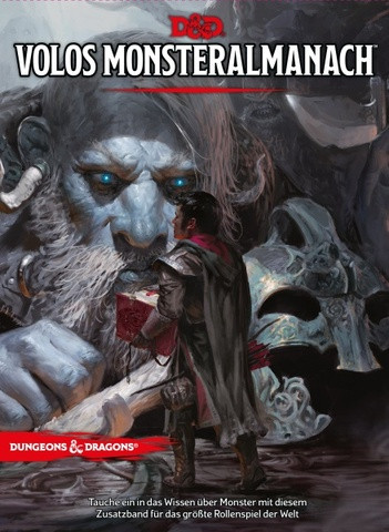 D&D RPG - Volos Almanach der Monster